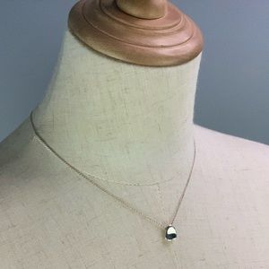 Authentic Tiffany Full Heart Necklace AG925